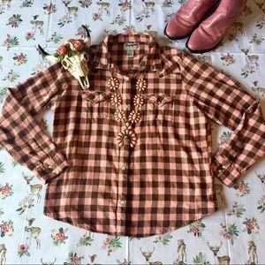 Comfy Cozy Wrangler Shirt 🍑